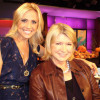 Jessica Holmes KTLA TV Anchor & TV Host with Martha Stewart