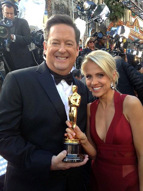 Oscars 2012 Jessica Holmes